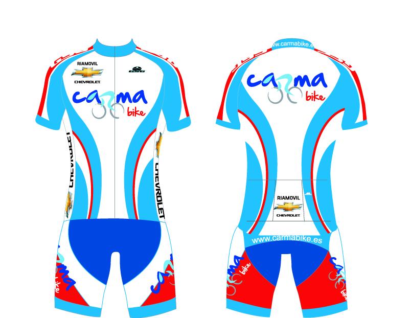 Equipaci n para clubs pe as y equipos carmabike for Equipos de ciclismo