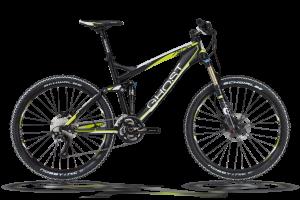 Bicicletas Modelos 2012 Ghost AMR 7500 Código modelo: My12 Amr7500 Black White Limegreen