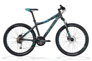 Bicicletas Modelos 2012 Ghost MISS 2000 Código modelo: My12 Miss2000 Black Blue Mint