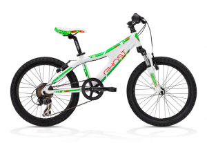 Bicicletas Modelos 2013 GHOST POWERKID 20 GIRL Código modelo: Powerkid 20 Girl White Red Green