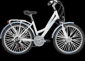 Bicicletas Modelos 2013 Kross Andante Código modelo: Tempo Andante D White Blue Shine