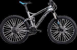 Bicicletas Modelos 2014 Ghost MTB Dobles ASX 27.5´´ ASX 5100 Código modelo: Mg 7912 Asx 5100 Silver Black Blue 01 Custom