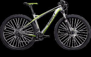 Bicicletas Modelos 2014 Ghost MTB Rígidas HTX 29´´ HTX Actinum 2972 Código modelo: Mg 7848 Htx 2972 Silver Black Lime 01 Custom