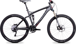 Bicicletas Modelos 2014 Ghost MTB Dobles AMR 650 B 27,5´´ AMR 6575 Código modelo: Mg 7918 Amr 6575 Grey Black Red Custom