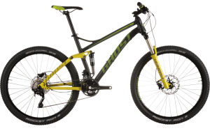 Bicicletas Modelos 2015 Ghost MTB Dobles Kato FS Kato FS 3 Código modelo: Kato Fs 3 Black Limegreen Grey Sv Mg 9655