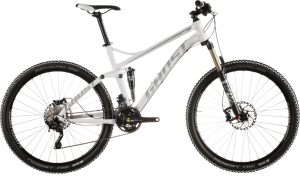 Bicicletas Modelos 2015 Ghost MTB Dobles Kato FS Kato FS 5 Código modelo: Kato Fs 5 White Black Sv Mg 9662
