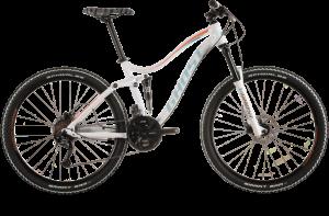 Bicicletas Modelos 2015 Ghost MISS Lanao FS Lanao FS 2 Código modelo: Lanao Fs 2 White Turquoise Orange Sv Mg 0101