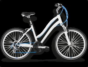 Bicicletas Modelos 2015 Kross Urbanas Satine Código modelo: Satine Bialy Srebrny Niebieski Mat