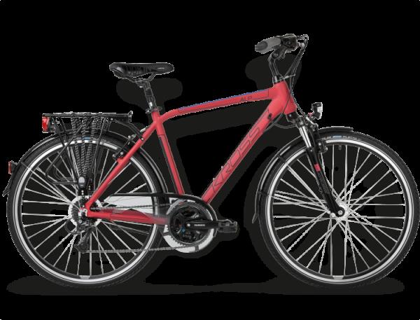 Bicicletas Modelos 2015 Kross Trekking Trans Alp Código modelo: Trans Alp Bordowy Granatowy Mat