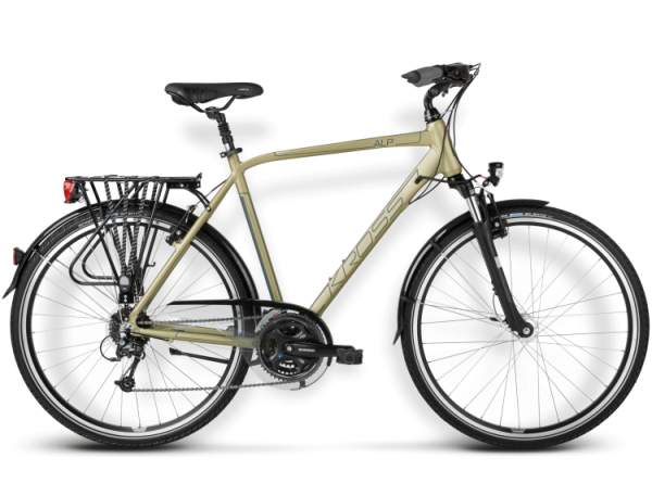 Bicicletas Modelos 2015 Kross Trekking Trans Alp Código modelo: Trans Alp Zielony Piaskowy Mat