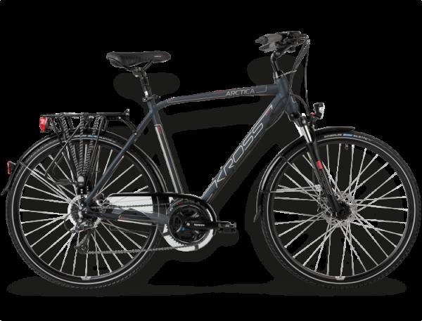 Bicicletas Modelos 2015 Kross Trekking Trans Arctica Código modelo: Trans Arctica Granatowy Bordowy Mat