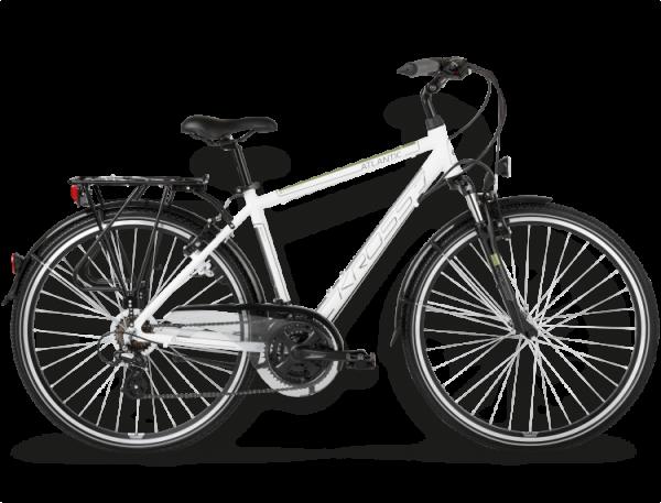 Bicicletas Modelos 2015 Kross Trekking Trans Atlantic Código modelo: Trans Atlantic Bialy Zielony Polysk