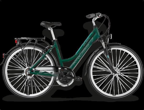 Bicicletas Modelos 2015 Kross Trekking Trans Atlantic Código modelo: Trans Atlantic Ciemny Zielony Mietowy Mat