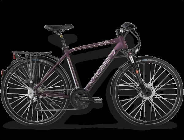 Bicicletas Modelos 2015 Kross Trekking Trans Global Código modelo: Trans Global Bordowy Miedziany Mat