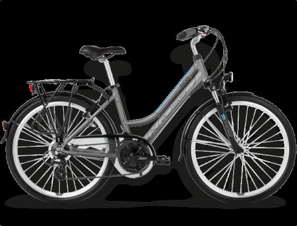 Bicicletas Modelos 2015 Kross Trekking Trans India Código modelo: Trans India Jasny Grafitowy Niebieski Mat