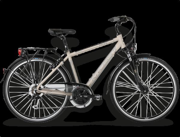 Bicicletas Modelos 2015 Kross Trekking Trans Pacific Código modelo: Trans Pacific Jasny Platynowy Polysk