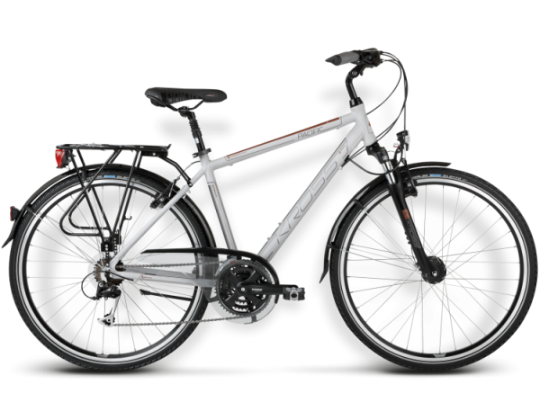 Bicicletas Modelos 2015 Kross Trekking Trans Pacific Código modelo: Trans Pacific Jasny Szary Brazowy Mat