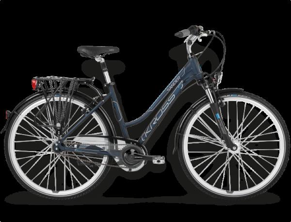 Bicicletas Modelos 2015 Kross Trekking Trans Sander Código modelo: Trans Sander Granatowy Blekitny Mat