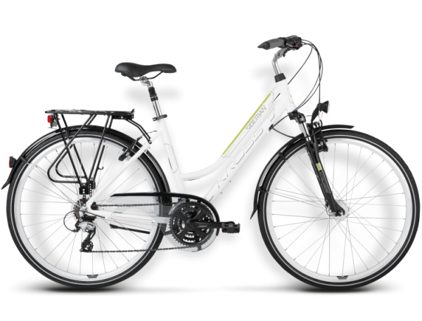 Bicicletas Modelos 2015 Kross Trekking Trans Siberian Código modelo: Trans Siberian Bialo Zielony Polysk