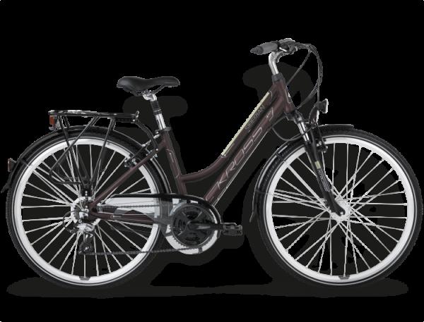 Bicicletas Modelos 2015 Kross Trekking Trans Siberian Código modelo: Trans Siberian Ciemny Brazowy Kremowy Mat