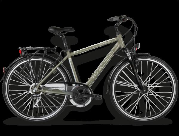 Bicicletas Modelos 2015 Kross Trekking Trans Siberian Código modelo: Trans Siberian Khaki Srebrny Mat