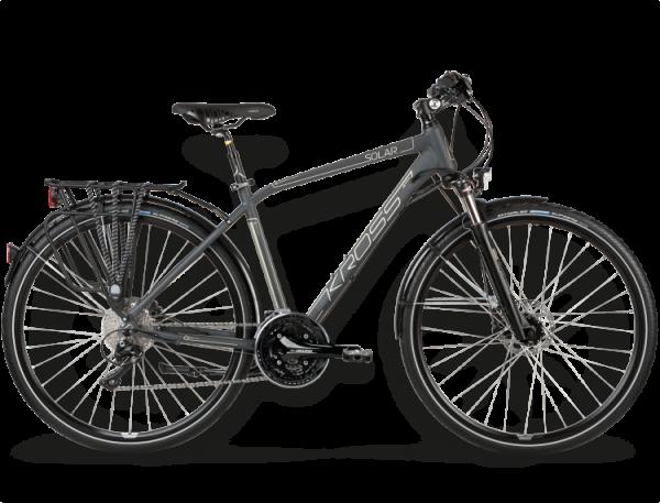 Bicicletas Modelos 2015 Kross Trekking Trans Solar Código modelo: Trans Solar Grafitowy Platynowy Mat