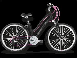 Bicicletas Modelos 2015 Kross Urbanas Tresse Código modelo: Tresse Czarny Bialy Rozowy Mat