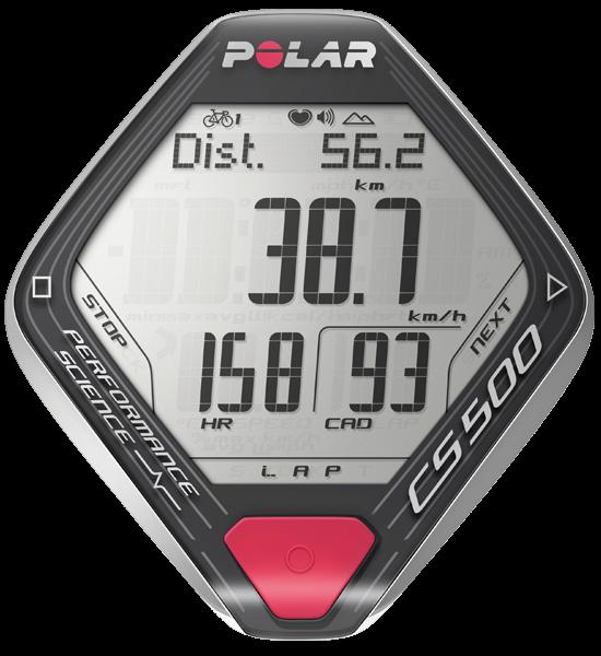 Polar CS 500 + HR + CAD Foto 1