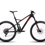 Bicicletas Modelos 2016 Ghost MTB Doble Suspensión Riot Riot 10 LC Código modelo: MY2016 RIOT 10 LC BLACK RED DARKRED V