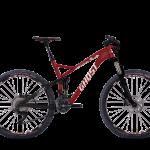 Bicicletas Modelos 2016 Ghost MTB Doble Suspensión SL AMR 27,5´´ SL AMR 7 Código modelo: MY2016 SLAMR 7 DARKRED BLACK WHITE V 01