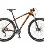 Bicicletas Modelos 2017 KTM MTB Rígida AERA 29 Código modelo: Aera 29 Comp 2030 Black Matt Orange