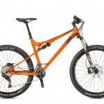 Bicicletas Modelos 2017 KTM MTB Full Suspension LYCAN 27 Código modelo: Lycan 272 2f Orange Black