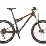 Bicicletas Modelos 2017 KTM MTB Full Suspension LYCAN 27 Código modelo: Lycan Prestige Black Orange