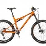 Bicicletas Modelos 2017 KTM MTB Full Suspension LYCAN 27 Código modelo: Lycan Prime Orange Matt Black