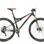 Bicicletas Modelos 2017 KTM MTB Full Suspension SCARP 29 Código modelo: Scarp 292 2f Black Matt Orangewhite