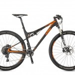 Bicicletas Modelos 2017 KTM MTB Full Suspension SCARP 29 Código modelo: Scarp 29 Master 1f Black Matt Orange