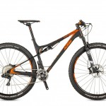 Bicicletas Modelos 2017 KTM MTB Full Suspension SCARP 29 Código modelo: Scarp 29 Master Di2 Black Matt Orange