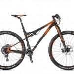 Bicicletas Modelos 2017 KTM MTB Full Suspension SCARP 29 Código modelo: Scarp 29 Prestige 1f Black Matt Orange