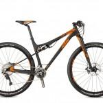 Bicicletas Modelos 2017 KTM MTB Full Suspension SCARP 29 Código modelo: Scarp 29 Prestige 2f Black Matt Orange