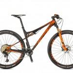 Bicicletas Modelos 2017 KTM MTB Full Suspension SCARP 29 Código modelo: Scarp 29 Sonic 12 Black Matt Orange Glossy