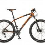 Bicicletas Modelos 2017 KTM MTB Rígida AERA 27,5 Código modelo: Aera 27 Comp 2030 Black Matt Orange