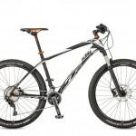 Bicicletas Modelos 2017 KTM MTB Rígida AERA 27,5 Código modelo: Aera 27 Pro 22 Black Matt White