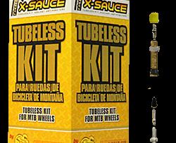 Tienda online Accesorios Cámaras y cubiertas Kit Tubeless X-Sauce