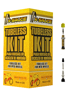 Kit Tubeless X-Sauce Foto 1