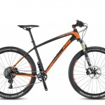 Bicicletas KTM MTB Rígida MYROON 27,5 Código modelo: Myroon 27 Master 1f 48 Matt Carbon Orange