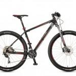 Bicicletas KTM MTB Rígida ULTRA 29 Código modelo: Ultra Fire 29 30s Black Matt Red