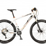 Bicicletas KTM MTB Rígida ULTRA 27 Código modelo: Ultra Force 27 22s White Matt Orange