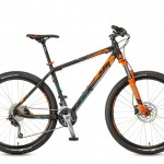 Bicicletas Modelos 2017 KTM MTB Rígida ULTRA 27 Código modelo: Ultra Fun 27 27s Black Orangeblau