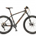 Bicicletas KTM MTB Rígida ULTRA 27 Código modelo: Ultra Race 27 22s Black Matt Orange