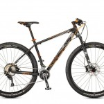 Bicicletas KTM MTB Rígida ULTRA 29 Código modelo: Ultra Race 29 22s Black Matt Orange